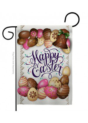 Sweet Chocolate Easter Garden Flag | Easter Flags | Garden Flags | Flags