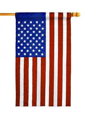 USA House Flag | Patriotic Flags | Applique Flags | House Flag | Yard Flag