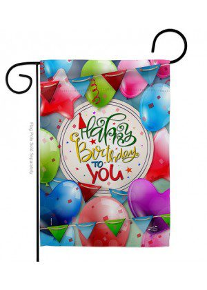 Celebrate Birthday Garden Flag | Celebration Flags | Garden Flags | Flags