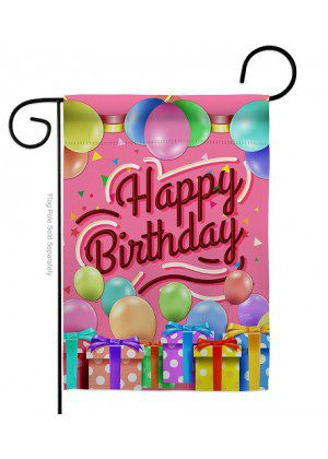 Celebrate Happy Birthday Garden Flag | Celebration Flags | Garden Flags