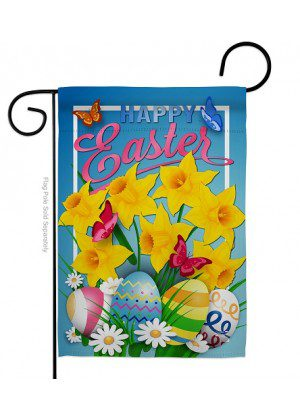 Daffodils Easter Garden Flag | Easter Flags | Garden Flags | Yard Flags