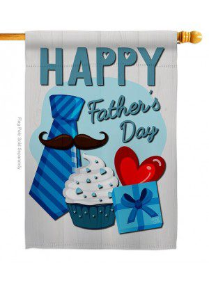 Happy Father's Day House Flag | Father's Day Flags | House Flags | Flags