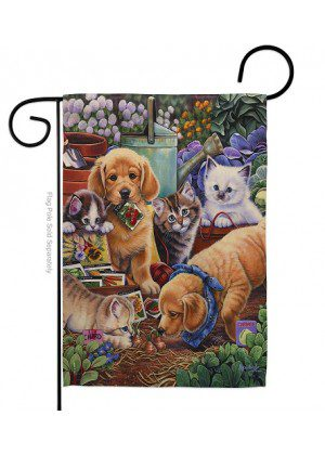 Helpful Garden Paws Garden Flag | Spring Flags | Garden Flag | Yard Flag
