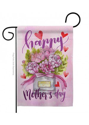 Mommy Love You Garden Flag | Mother's Day Flags | Yard Flag | Cool Flag