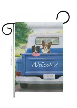Play Day With Buddy Garden Flag | Welcome Flags | Garden Flags | Flags