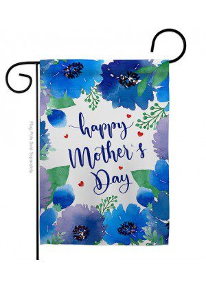 Royal Floral Mother's Day Garden Flag | Mother's Day Flags | Yard Flags