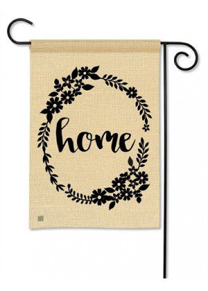 Rustic Home Garden Flag | Inspirational Flags | Summer Flags | Yard Flag