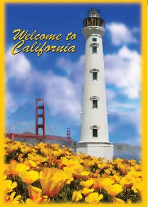 Welcome To California Flag | Garden Flags | Flag | Garden House Flags