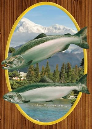 Chinook Salmon Garden Flag | Flags | Garden Flags | Garden House Flags