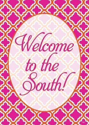 Welcome to the South Flag | Decorative Flags | Garden House Flags