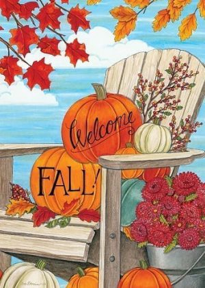 Fall Adirondack Flag | Thanksgiving Flags | Two-sided Flags | Fall Flags
