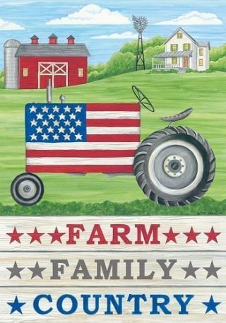 Farm, Family, Country Flag | 4th of July Flags | Patriotic Flags | Cool Flags