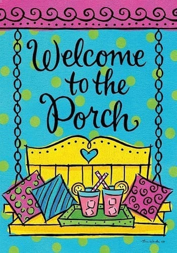 Porch Welcome Flag | Decorative Flag | House Flag | Garden House Flags