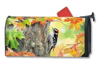 Woodpecker Mailbox Cover | Decorative Mailwraps | Mailbox Covers