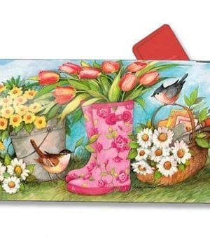 Garden Boots Mailbox Cover | Decorative Mailwraps | Mailbox Covers