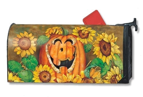Sunflower Jack Mailwraps Mailbox Cover