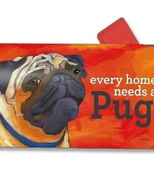 Pug Mailbox Cover | Mailwraps | Mailbox covers | Decorative MailWraps