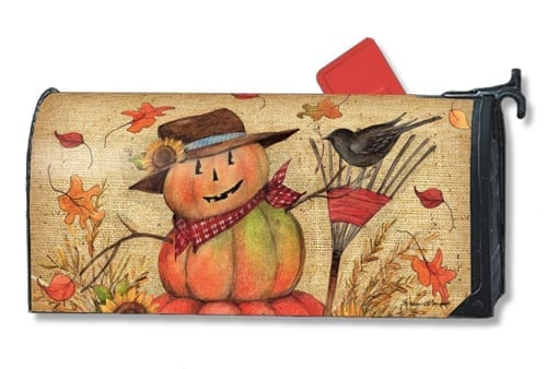 Fall Friends Mailwraps Mailbox Cover