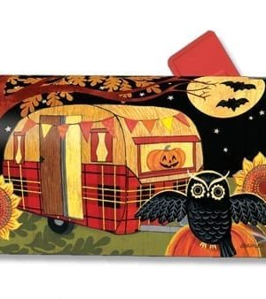 Halloween Camper Mailbox Cover | Mailwraps | Garden House Flags