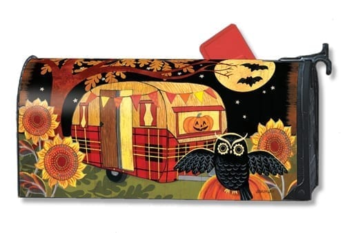 Halloween Camper Mailwraps Mailbox Cover