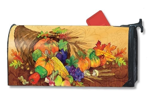 Bountiful Harvest Mailwraps Mailbox Cover