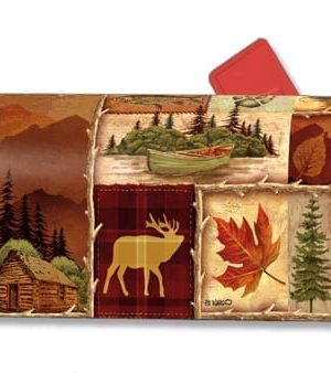 Cabin Fever Mailbox Cover | Decorative Mailwraps | Garden House Flags