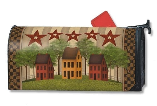 Saltbox Houses Mailwraps Mailbox Cover