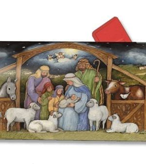 Holy Family Mailbox Cover | Decorative Mailwraps | Garden House Flags
