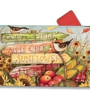 Signs of Fall Mailbox Cover | Decorative Mailwraps | Garden House Flags