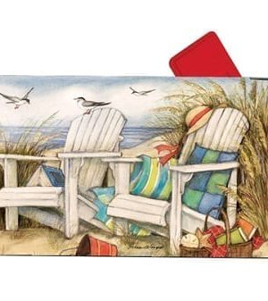 Time to Relax Mailbox Cover | Decorative Mailwraps | Garden House Flags