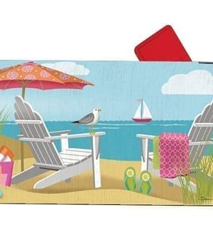 Better at the Beach Mailbox Cover | Mailwraps | Garden House Flags