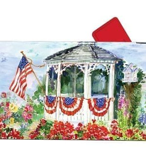 All-American Mailbox Cover | Decorative Mailwraps | Garden House Flags