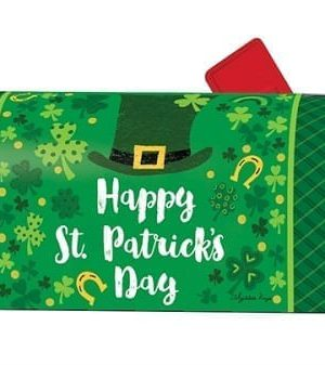 Everything Irish Mailbox Cover | Decorative Mailwrap | Garden House Flag