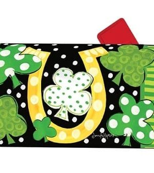 Luck of the Irish Mailbox Cover | Mailwraps | Garden Decor | Garden House Flags