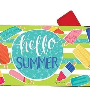 Ice Cream and Popsicles Mailbox Cover | Mailwraps | Garden House Flags