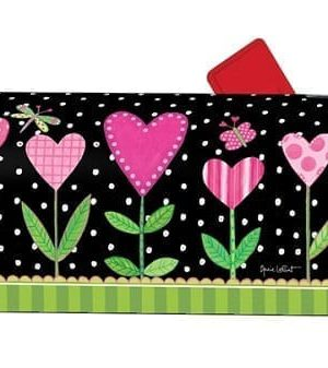 Love Sprouts Mailbox Cover   Decorative Mailwraps   Mailbox Covers