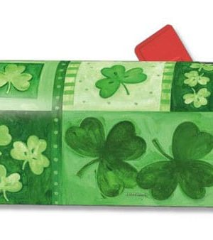 Shamrock Collage Mailbox Cover | Mailwraps | Garden House Flags