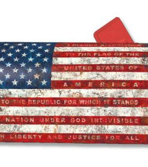 Pledge of Allegiance Mailbox Cover | Mailwraps | Garden House Flags