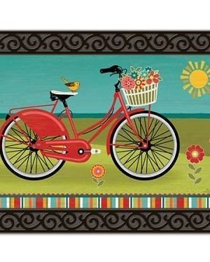 Summer Ride Doormat | Doormats | MatMates | Decorative Doormats
