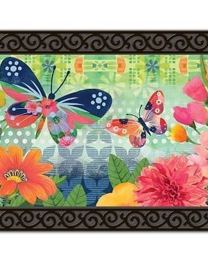Butterflies in Flight Doormat | Doormats | MatMates | Decorative Doormats