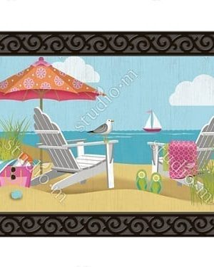 Better at the Beach Doormat | Doormats | MatMates | Decorative Doormats