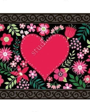 Love Everywhere Doormat | Doormat | MatMate | Valentine's Day Doormat