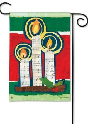 All Is Bright Garden Flag | Christmas Flags | Decorative Garden Flags