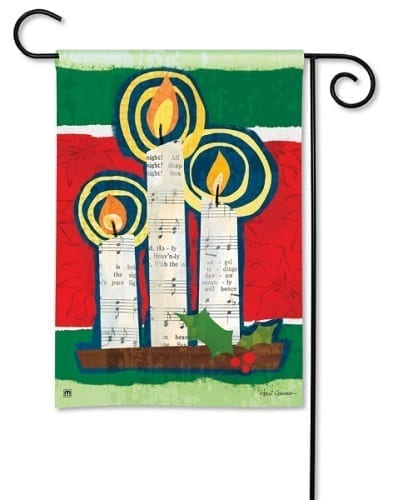 All Is Bright Garden Flag | Decorative Flags | Garden Flags | Garden House Flags