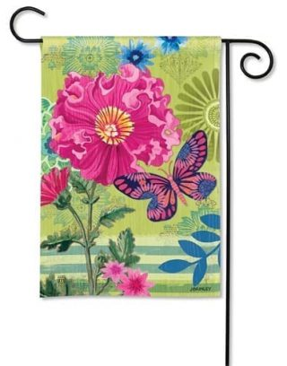 Capistrano Peony Garden Flag | Floral Flags | Cool Flags | Summer Flags