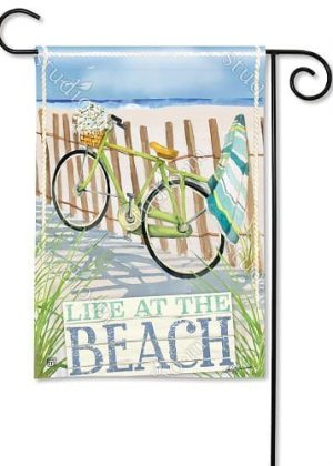 Beach Trail Flag | Decorative Flags | Garden Flags | Garden House Flags