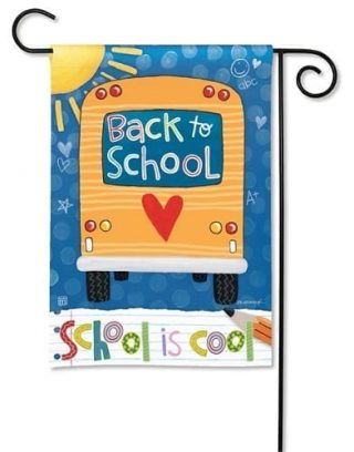 School is Cool Garden Flag | Cool Flags | Summer Flags | Yard Flags