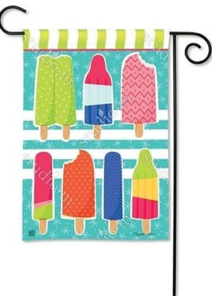 Ice Cream and Popsicles Garden Flag | Summer Flags | Yard Flags | Flags