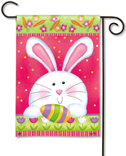Hippity Hop Garden Flag | Easter Flags | Decorative Flags | Garden House Flags