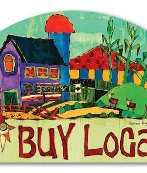Buy Local Yard Sign | Yard Signs | Address Plaques | Garden Decor
